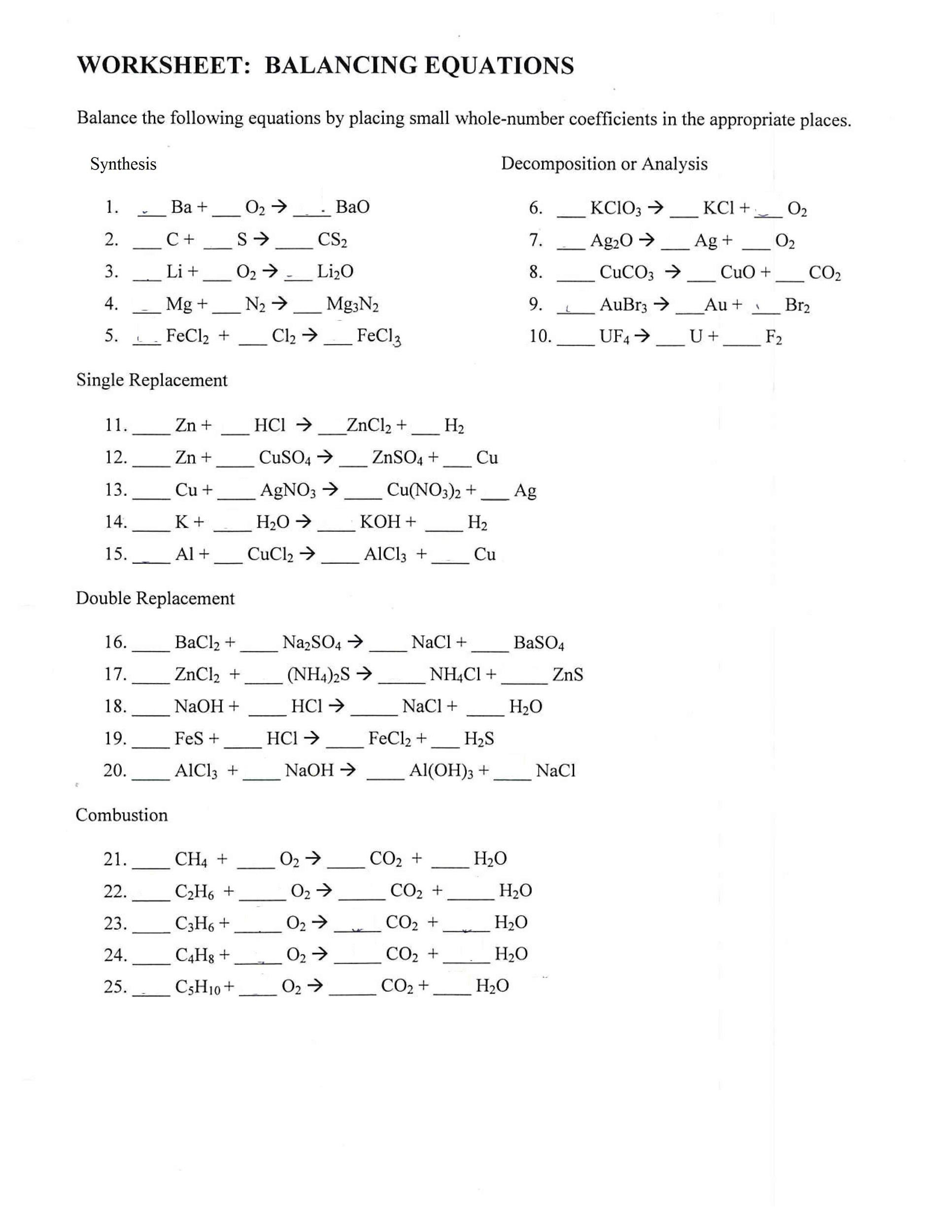 30 Macromolecules Worksheet Answer Key