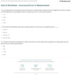 Percent Error Worksheet Key 7th Grade   Printable Worksheets and Activities  for Teachers [ 1225 x 1140 Pixel ]