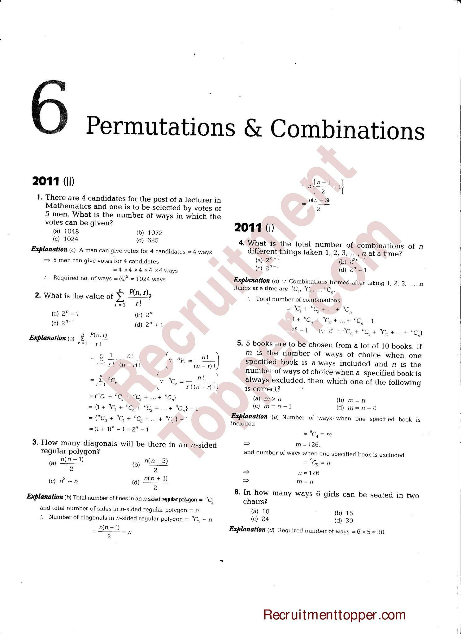 30 Combinations And Permutations Worksheet