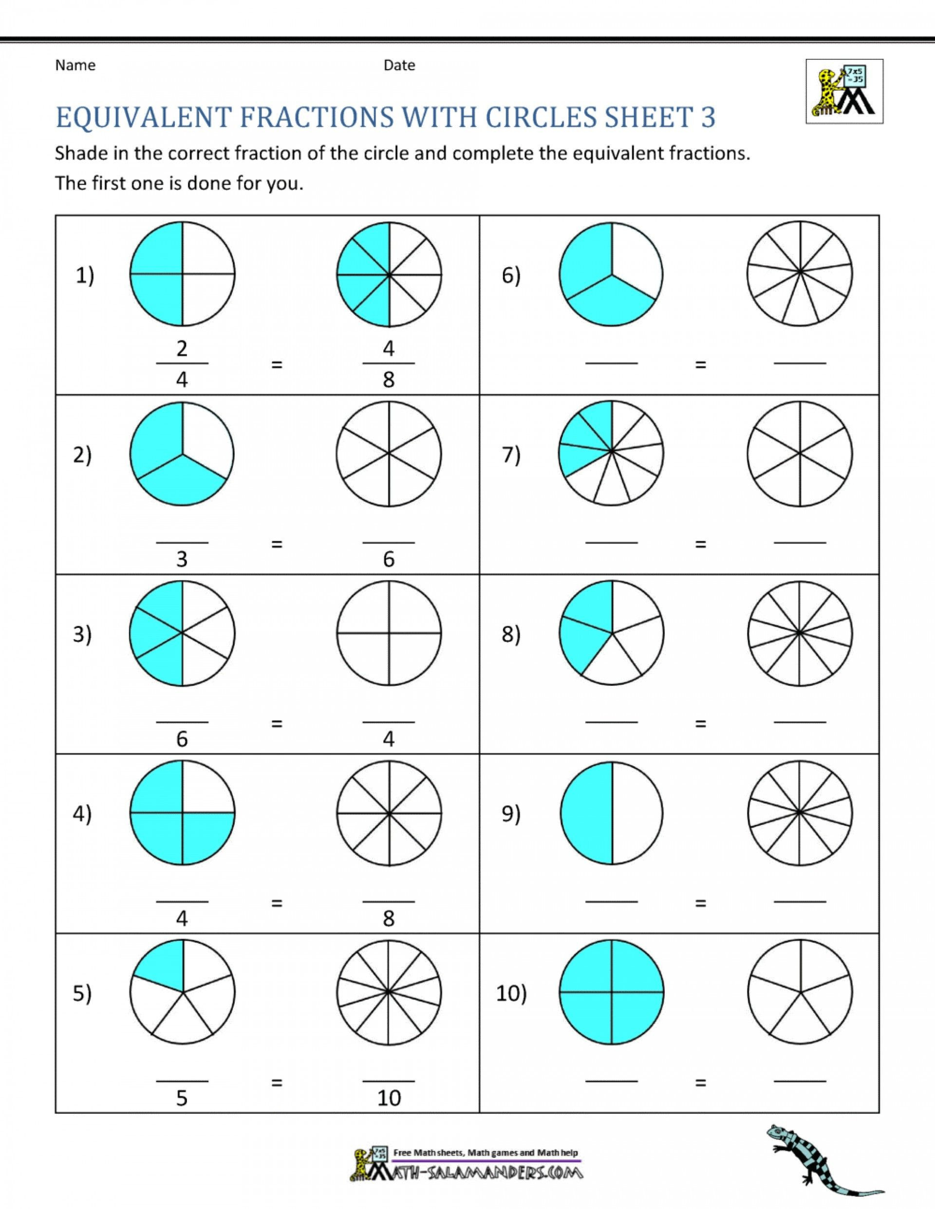 30 Comparing Fractions And Decimals Worksheet