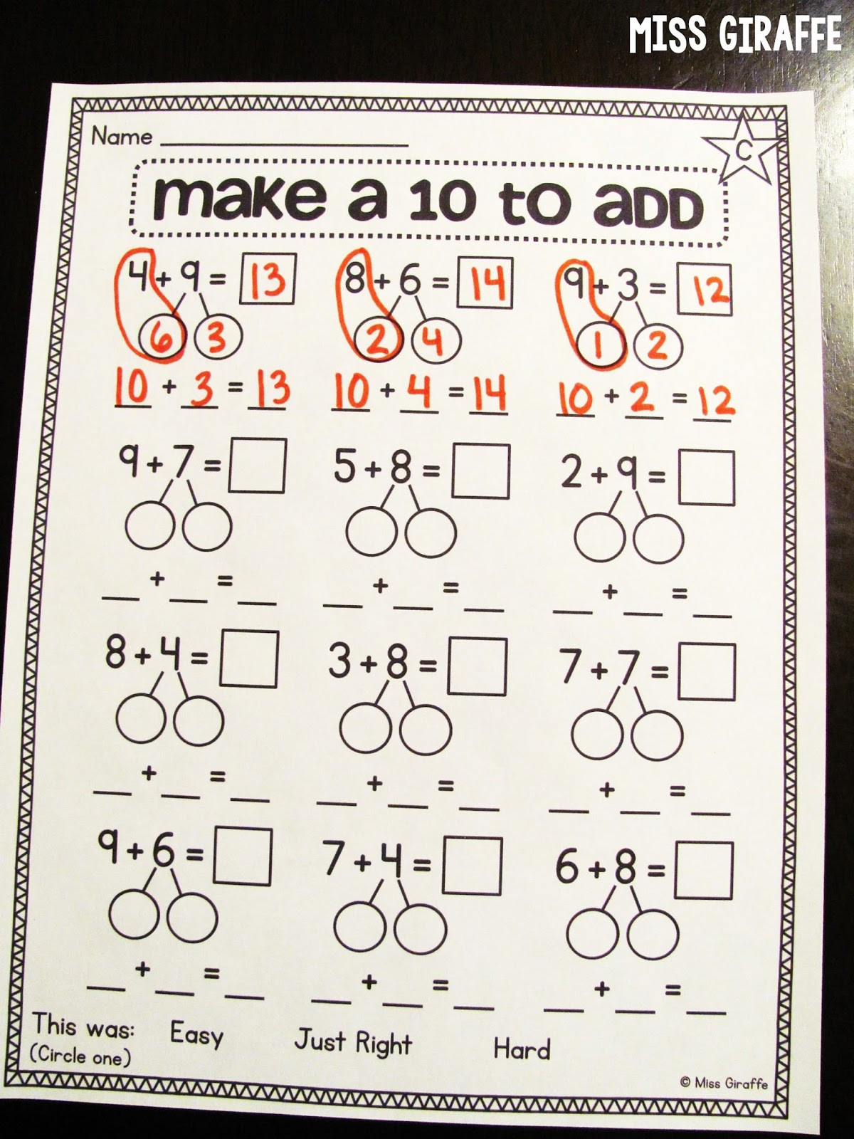 30 Composing And Decomposing Numbers Worksheet