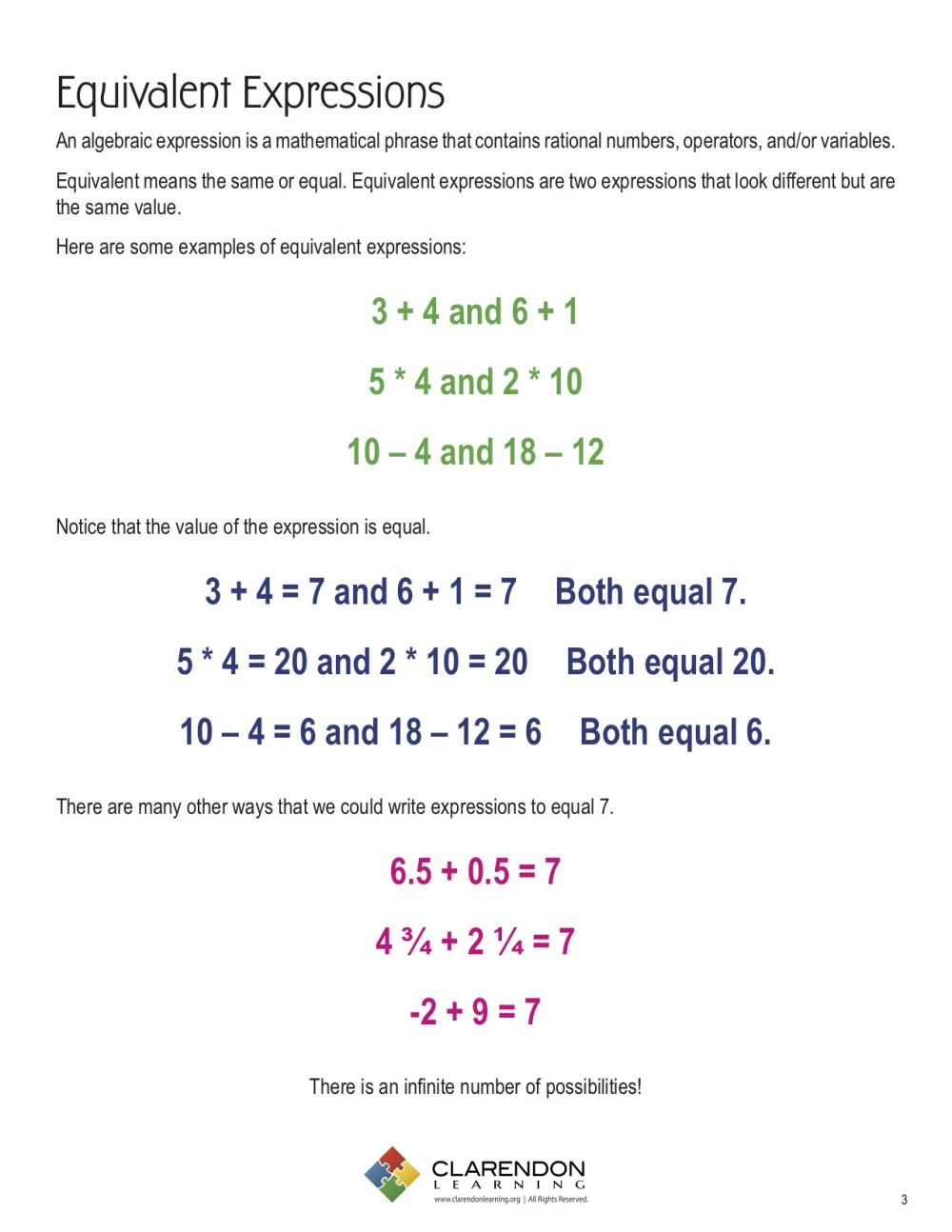 medium resolution of Variable Expression Worksheets For 6th Grade   Printable Worksheets and  Activities for Teachers