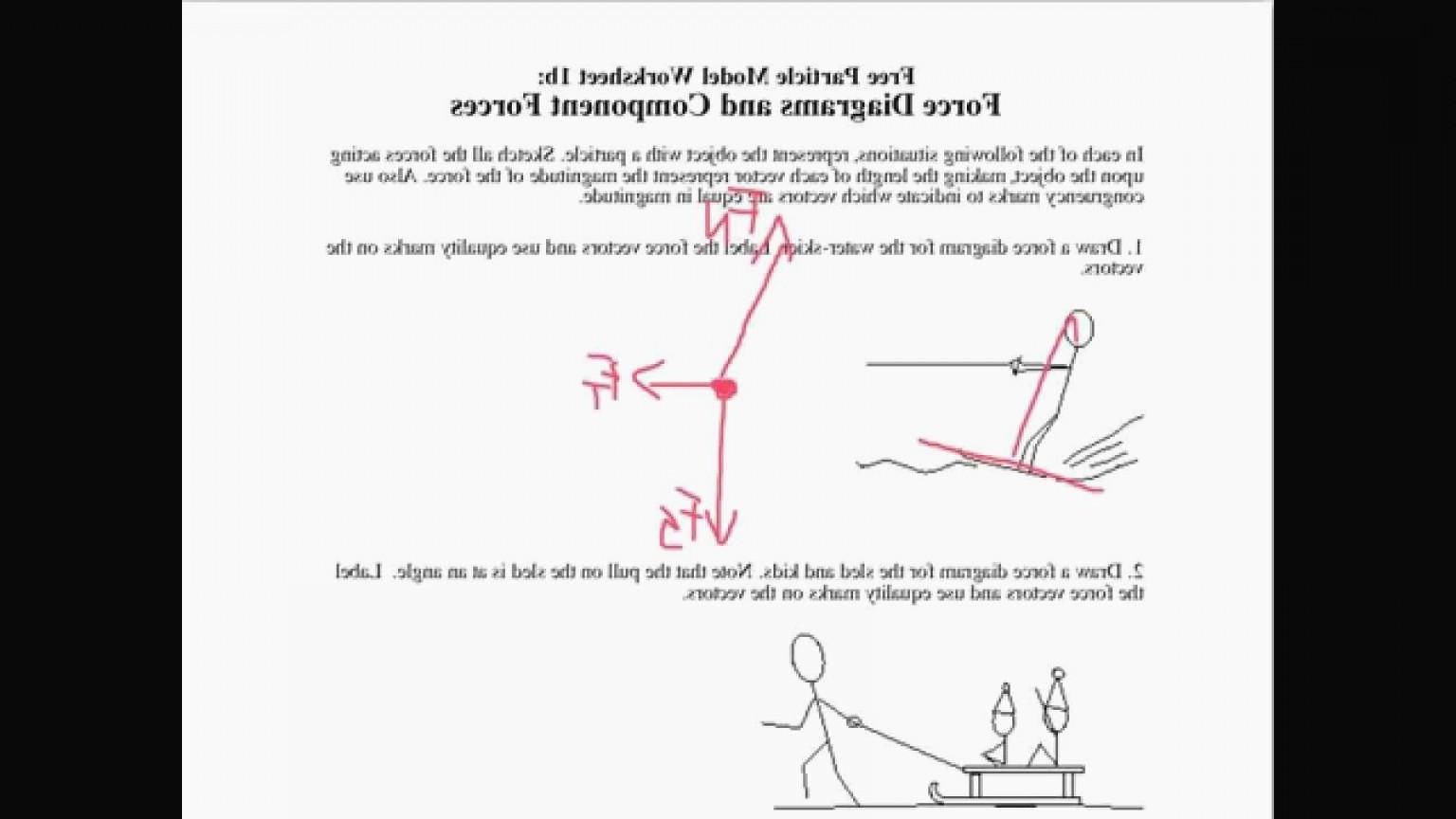 30 Free Body Diagram Worksheet Answers