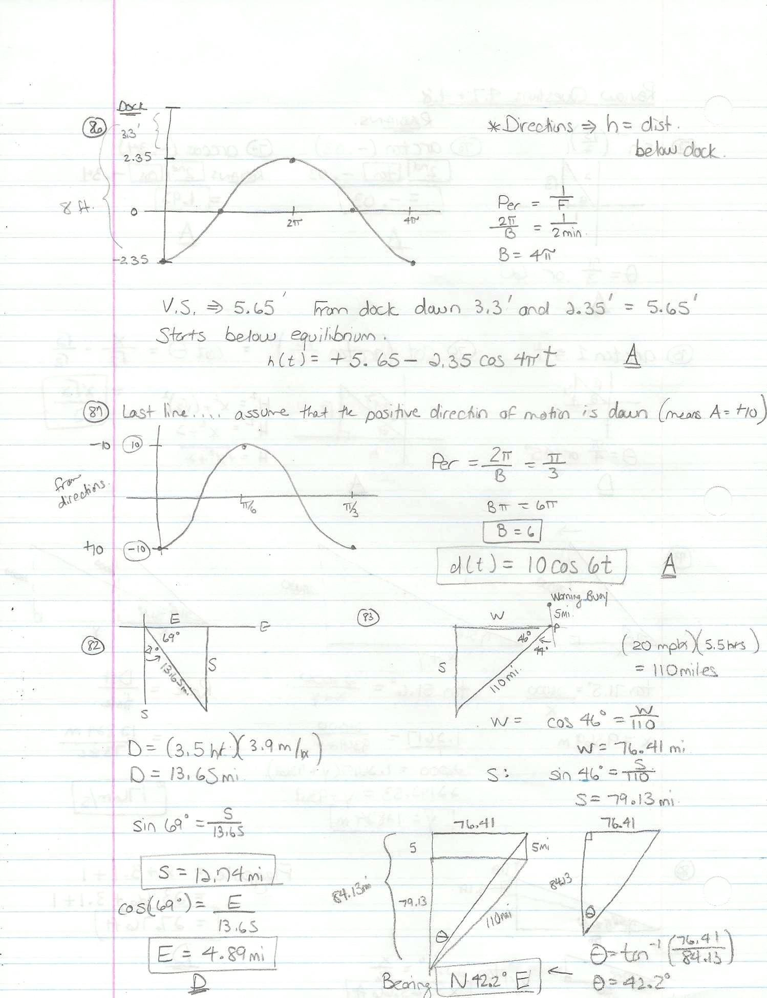 30 Graphing Trig Functions Practice Worksheet