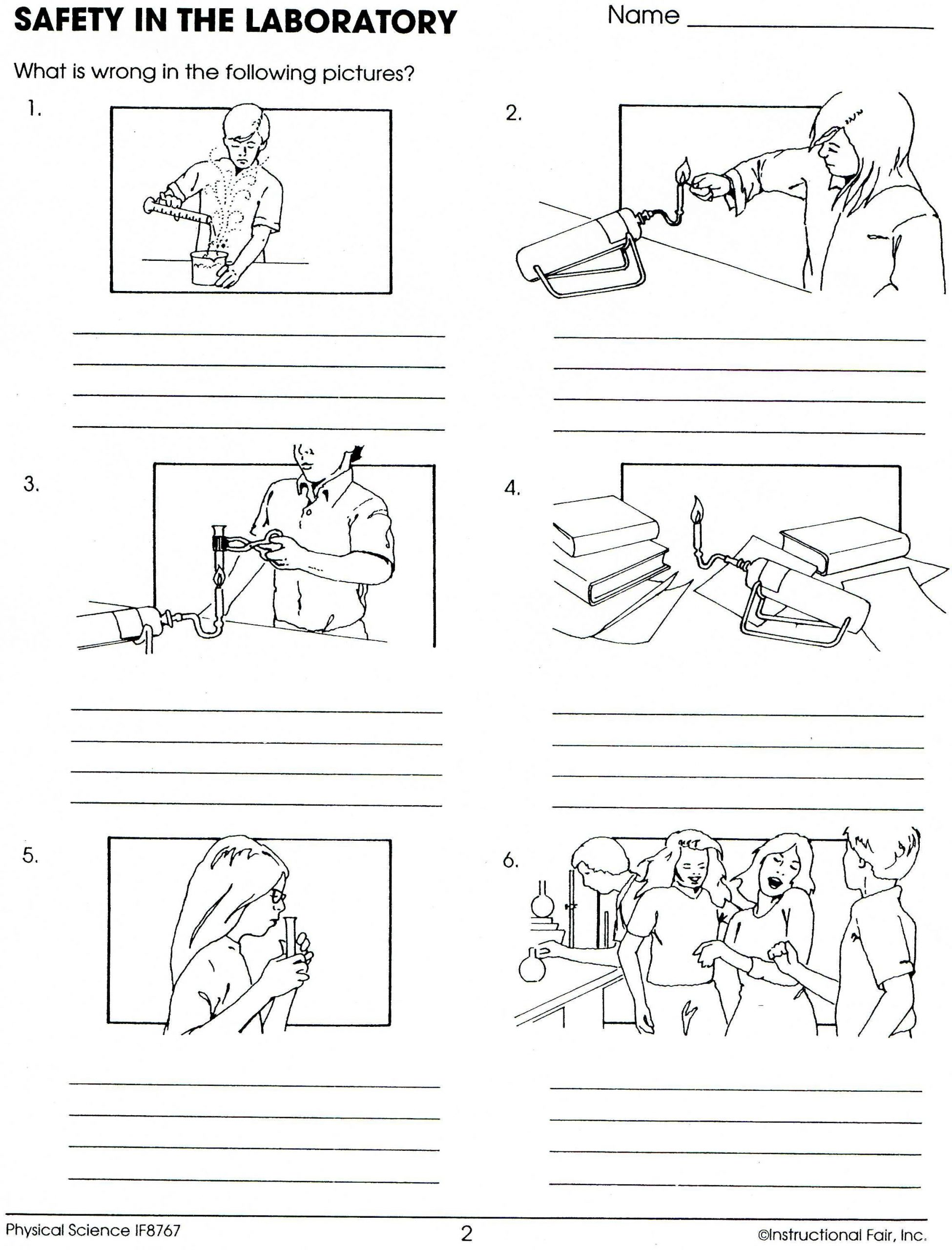30 Lab Safety Symbols Worksheet