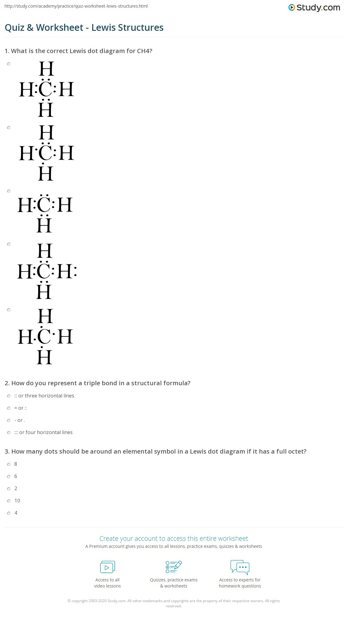 30 Lewis Dot Diagrams Worksheet Answers
