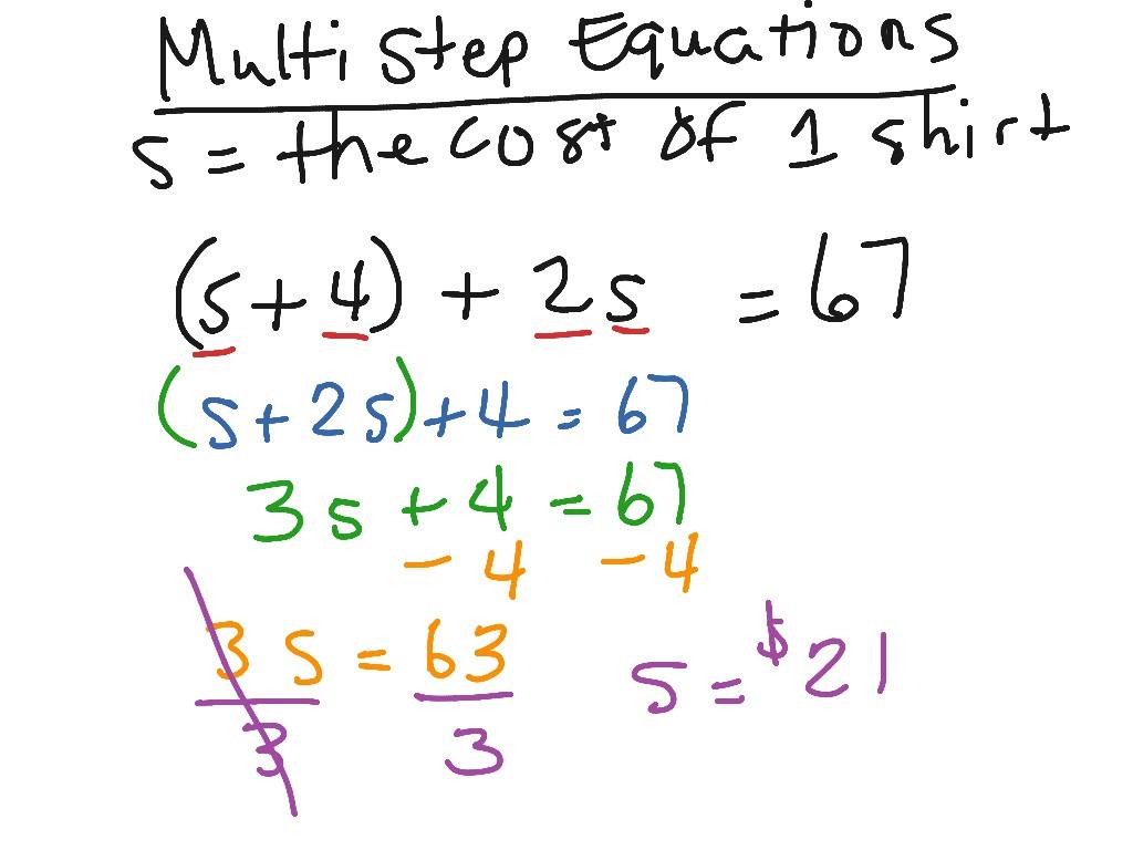 30 Multi Step Inequalities Worksheet