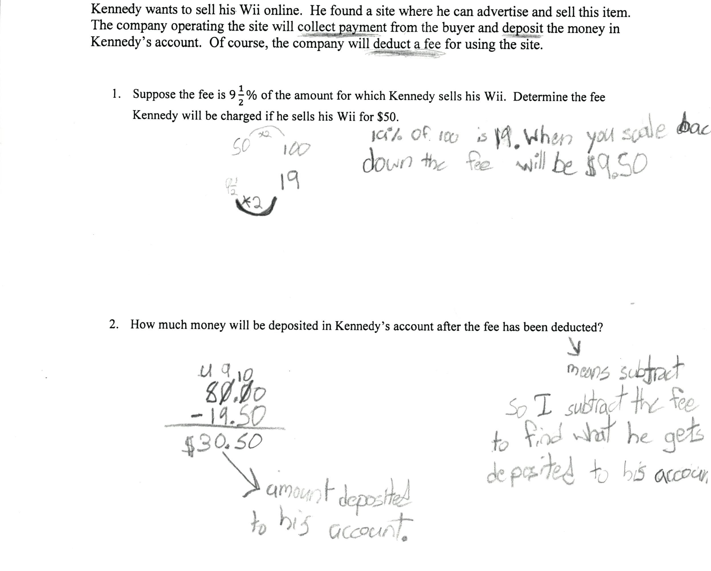 31 Percent Error Worksheet Answer Key