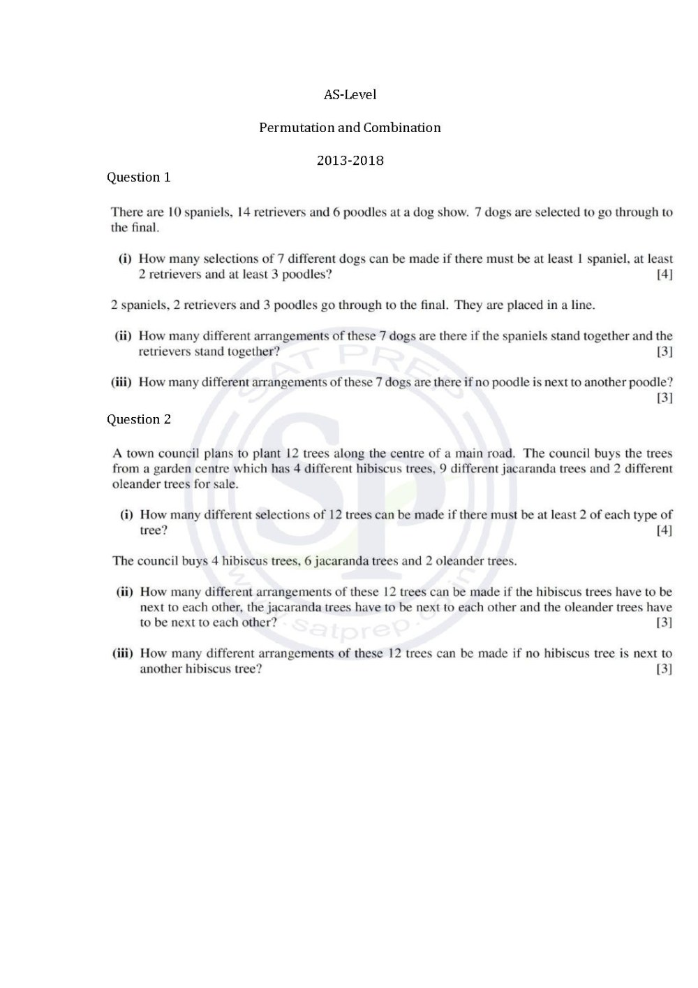 medium resolution of Permutation Practice Worksheets   Printable Worksheets and Activities for  Teachers