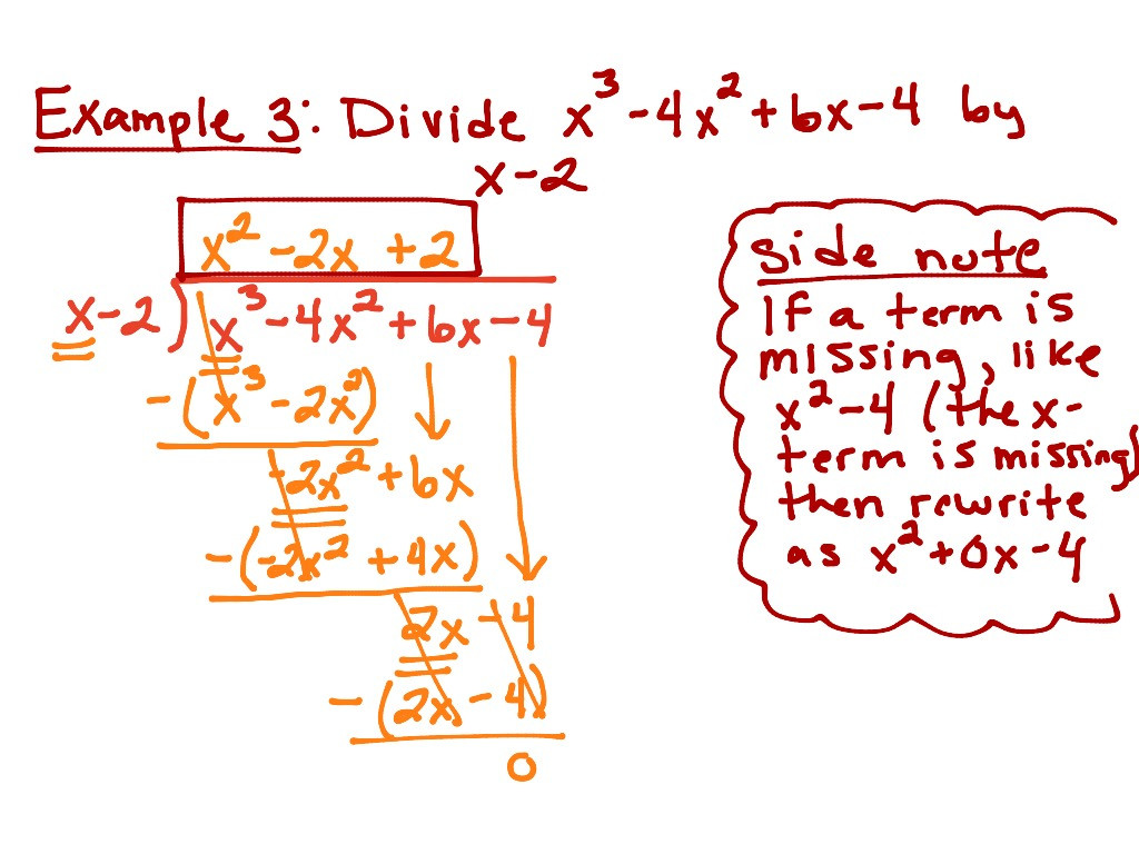 30 Polynomial Long Division Worksheet