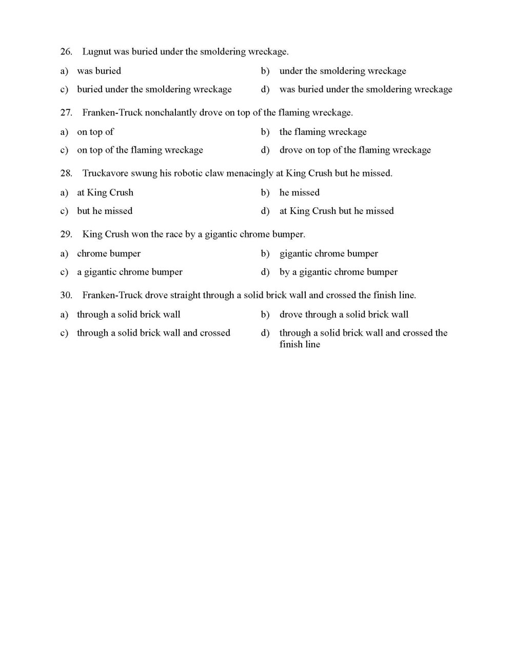 medium resolution of Identifying Phrases Worksheet   Printable Worksheets and Activities for  Teachers