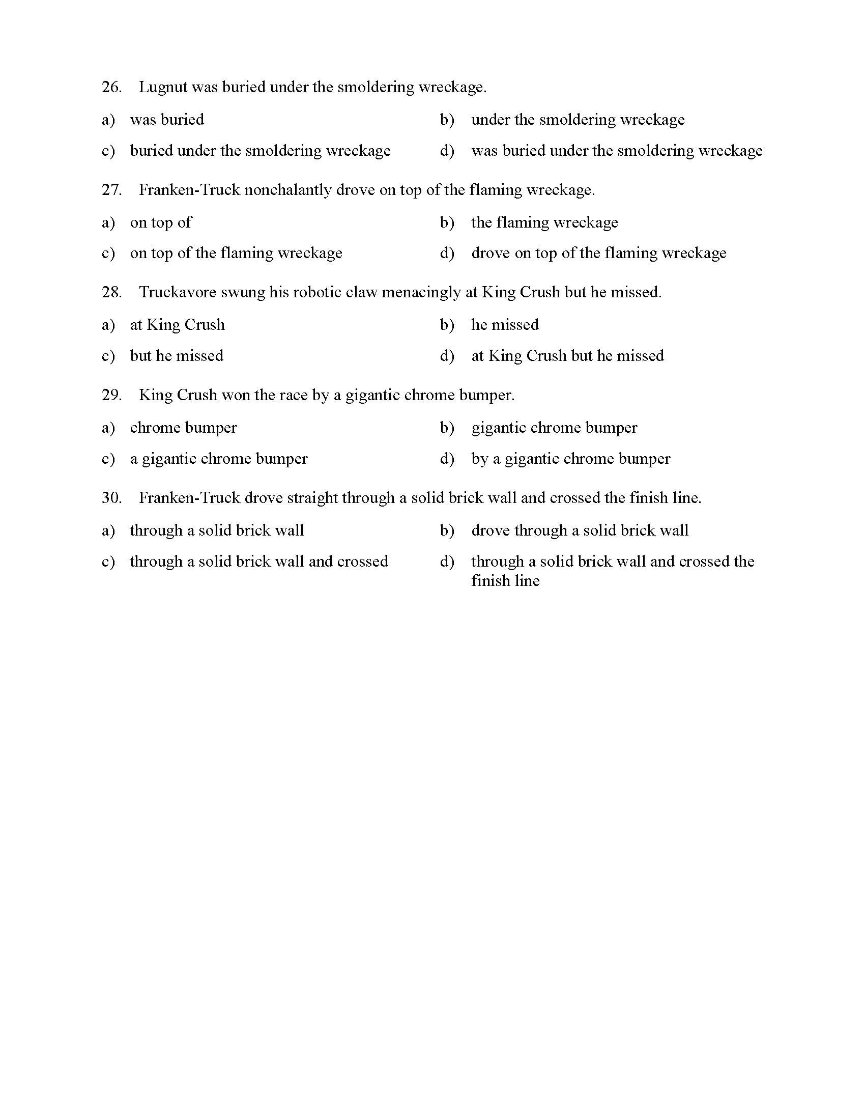 hight resolution of Identifying Phrases Worksheet   Printable Worksheets and Activities for  Teachers