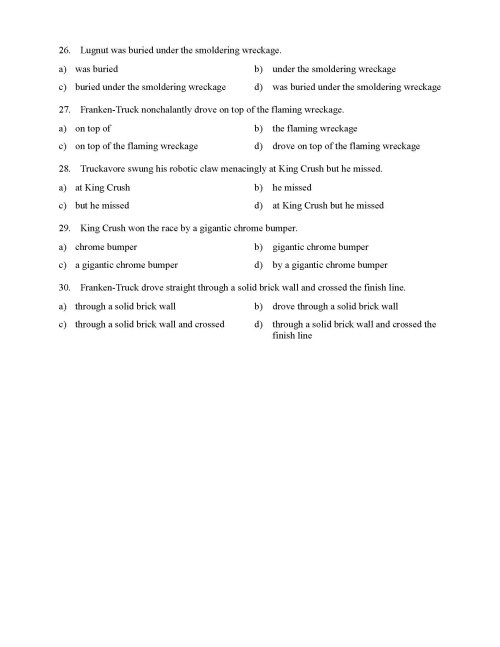 small resolution of Identifying Phrases Worksheet   Printable Worksheets and Activities for  Teachers