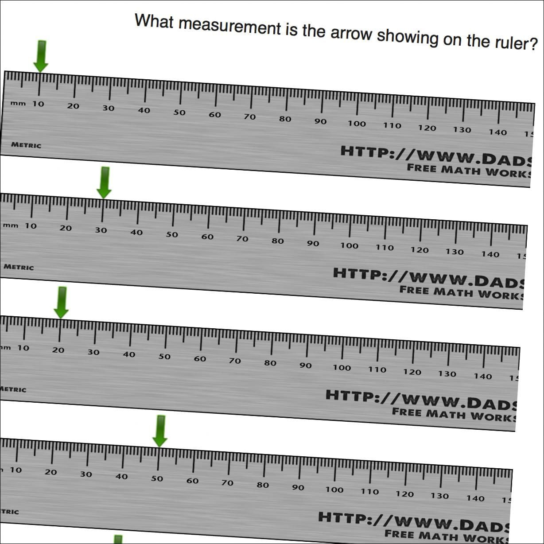 30 Reading A Metric Ruler Worksheet