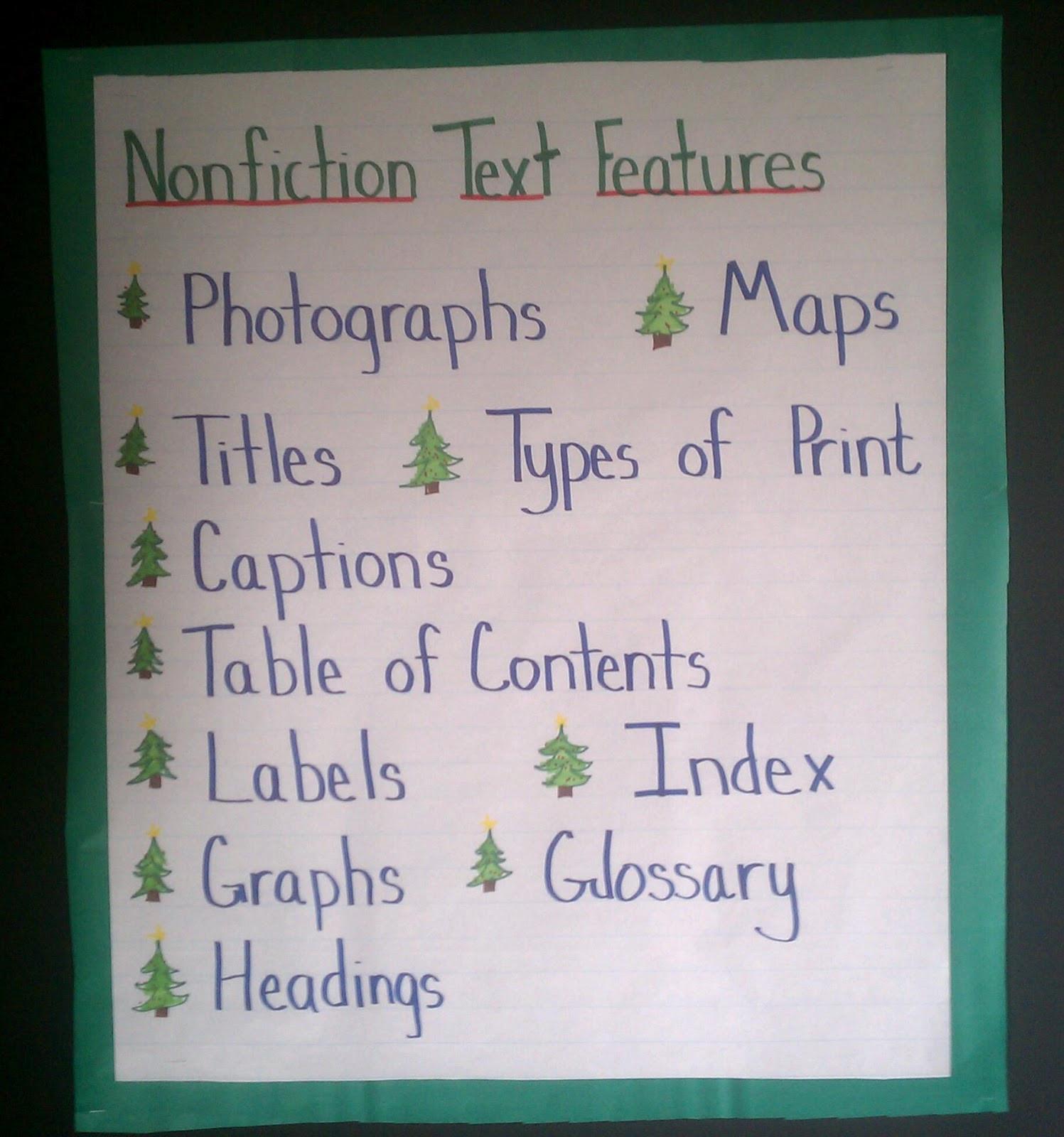 30 Text Features Worksheet 3rd Grade