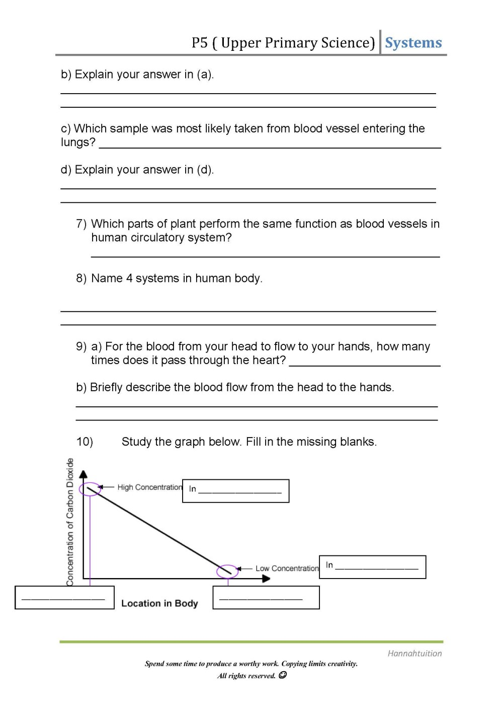 medium resolution of 7th Grade Circulatory System Worksheets   Printable Worksheets and  Activities for Teachers