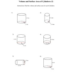 Cylinder Cone Volume Rate Worksheets   Printable Worksheets and Activities  for Teachers [ 1584 x 1224 Pixel ]