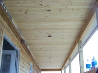 Porch Ceiling and Walls | Smith Funny Farm