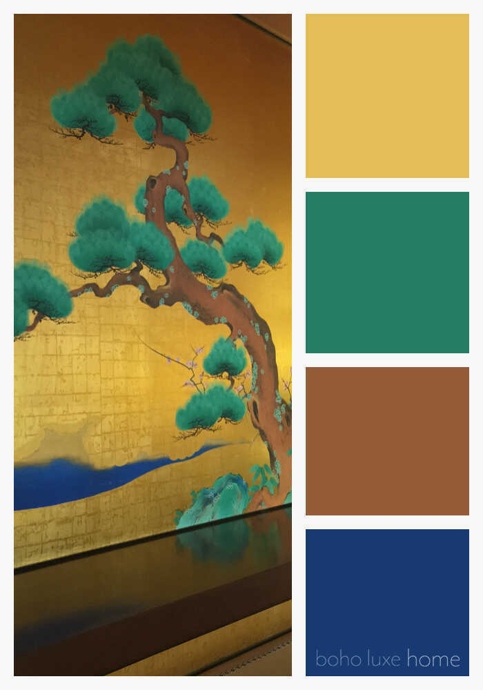 Japenese Color Palettes - Here are Japanese color palettes, perfect inpspiration for bringing a touch of Japan into your home.