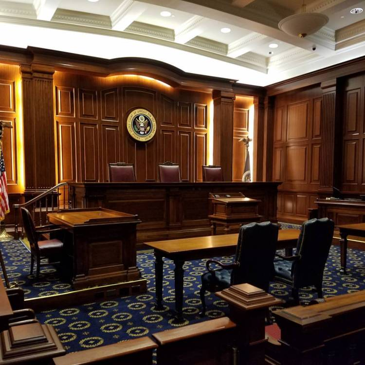 U.S. Federal Circuit Courtroom