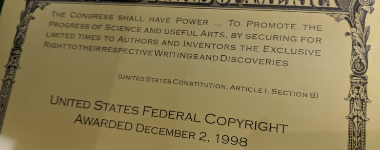 United States Copyright Registration