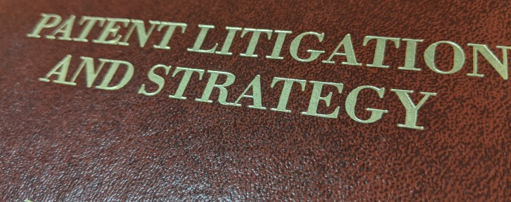 Patent litigation and strategy treatise book cover