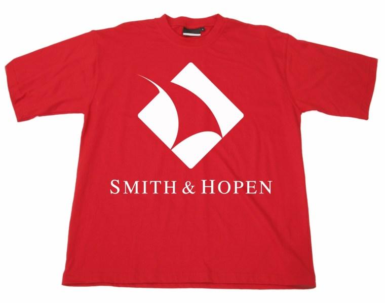 Smith Hopen logo used as decoration on a shirt (non-trademark use)