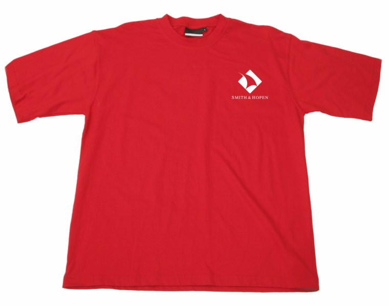 Shirt with Smith Hopen logo on left breast