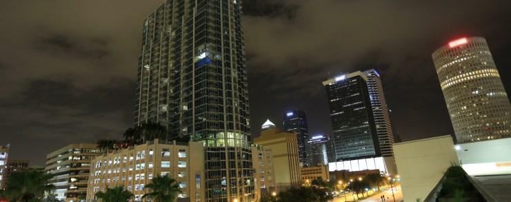 Tampa Skyline at Night
