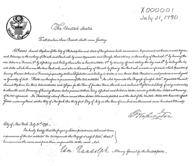 The first of the X Patents