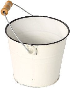 Bucket with handle subject to patent claim chart analysis in the table below.