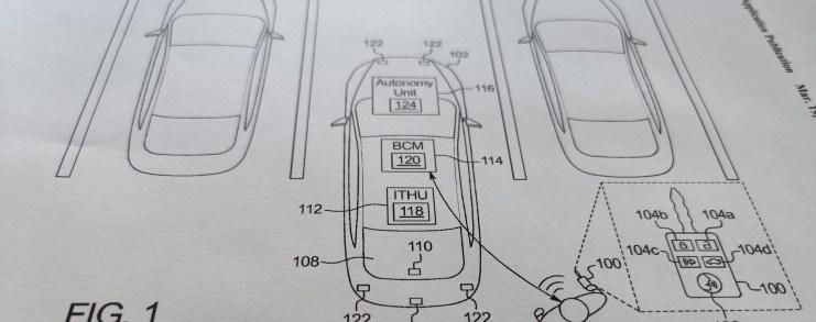 Ford developed voice activated autonomous parking