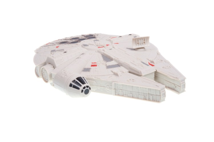 Example of Millennium Falcon Toy