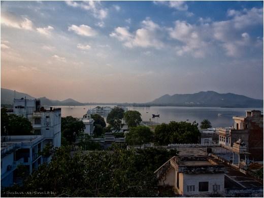 Evening View: Gaj Villas