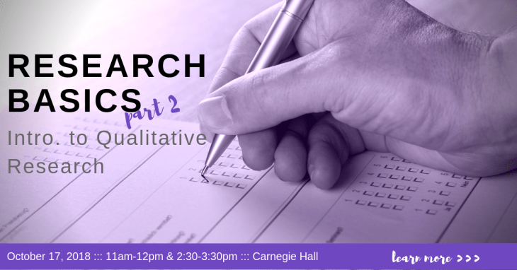 Research Basics Part 2 Intro to Qualitative Research WordPress