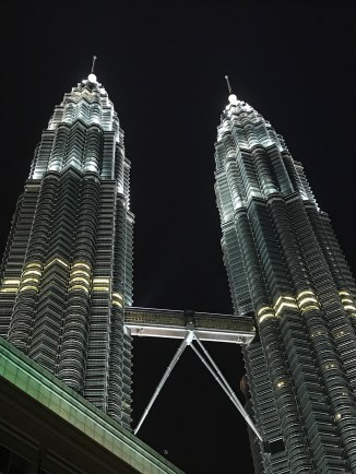 Petronas by night