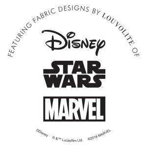 Disney, Star Wars™ and Marvel Logos