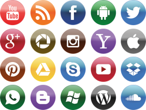 Illustration-Social-media all icons