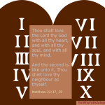 The ten commandments, the law of God