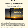 Illustration-The SFA Post - Tools & Resources - Scripture Image Gallery