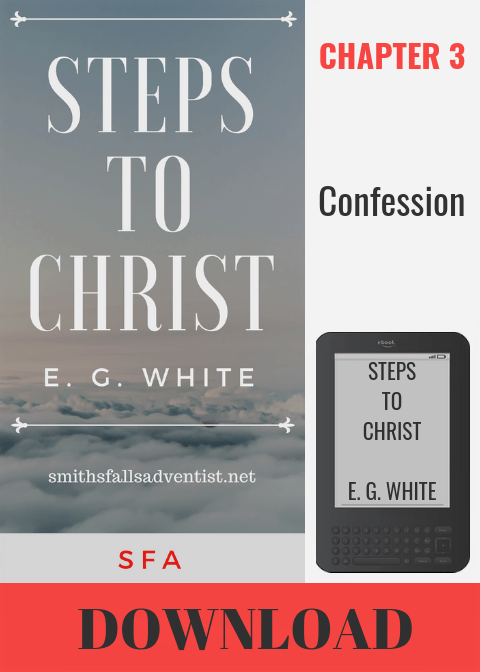 Illustration-EBook Steps To Christ, Chapter 3 - Confession-text