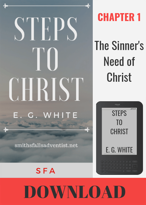 Illustration-Ebook Steps To Christ - Chapter 1-text-cover-e-reader