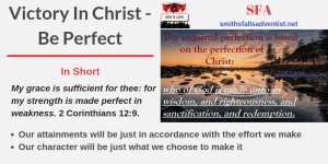 Illustration-Title-Victory In Christ - Be Perfect