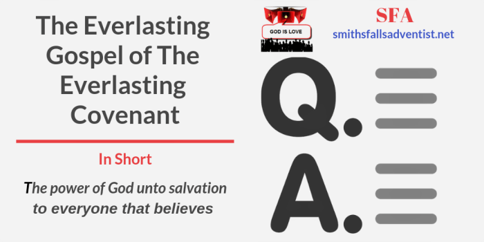 Illustration-Title-The Everlasting Gospel of The Everlasting Covenant-text-logo-Q&A