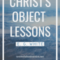 Illustrayion-Cover-Christ's Object Lessons-text-logo