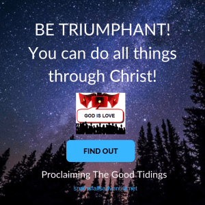 Illustration-Sky-Text-You can do all things through Christ-Logo