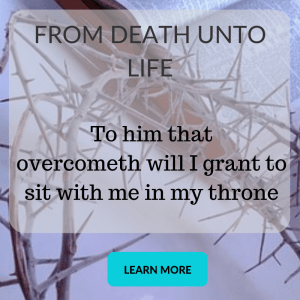 Illustration-Thorn crown-text-Bible-FROM DEATH UNTO LIFE