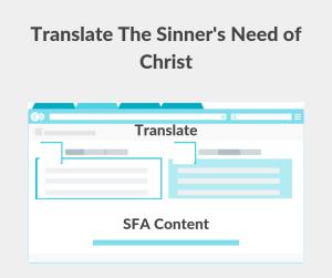 Illustration-Translate The Sinner's Need of Christ