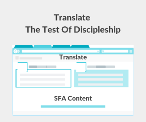 Illustration-Translate The Test Of Discipleship