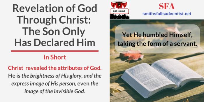 Illustration-Title-Revelation of God Through Christ-text-logo